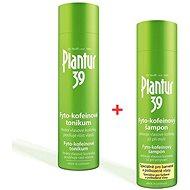 PLANTUR39 Fyto-kofeinový šampon pro barvené vlasy + vlasové tonikum - Sada
