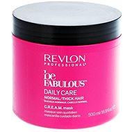 REVLON Be Fabulous Normal/Thick Cream Mask 500 ml - Maska na vlasy