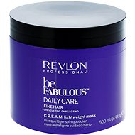 REVLON Be Fabulous Fine Cream Lightweight Mask 500 ml - Maska na vlasy