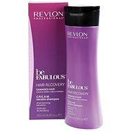 REVLON Be Fabulous Damaged Cream Keratin Shampoo 250 ml - Šampon