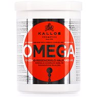 KALLOS Omega Hair Mask 1000 ml  - Maska na vlasy