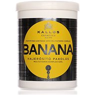 KALLOS Banana Fortifying Hair Mask 1000 ml  - Maska na vlasy