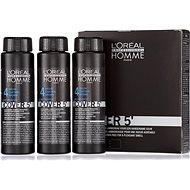ĽORÉAL PROFESSIONNEL Homme COVER 5' 4 3 x 50ml (4 - medium brown) - Hair Dye for Men