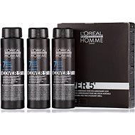 ĽORÉAL PROFESSIONNEL Homme COVER 5' 7 3 x 50ml (7 - medium blonde) - Hair Dye for Men