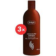 ZIAJA Kakaové máslo - šampon 3 x 400 ml - Šampon