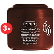 ZIAJA Kakaové máslo - maska 3 x 200 ml - Maska na vlasy