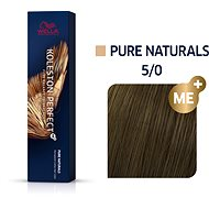 WELLA PROFESSIONALS Koleston Perfect Pure Naturals 5/0 (60 ml) - Barva na vlasy