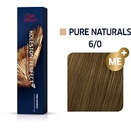 WELLA PROFESSIONALS Koleston Perfect Pure Naturals 6/0 (60 ml) - Barva na vlasy