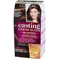 ĽORÉAL CASTING Creme Gloss 432 Čokoládový fondant - Barva na vlasy