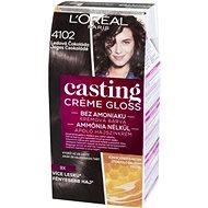 ĽORÉAL CASTING Creme Gloss 410 Ledová čokoláda - Barva na vlasy