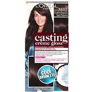 ĽORÉAL CASTING Creme Gloss 310 Ledové espresso - Barva na vlasy