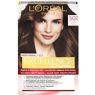 ĽORÉAL PARIS Excellence Creme 5.02 Světlá hnědá duhová - Barva na vlasy