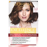 ĽORÉAL PARIS Excellence Creme 5.3 Světle hnědá zlatá - Barva na vlasy