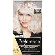 ĽORÉAL PARIS Préférence 10.21 Stockholm Světlá perlová blond - Barva na vlasy