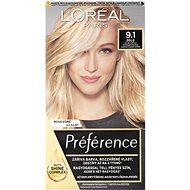 ĽORÉAL PARIS Préférence 9.1 Oslo Světlá popelavá blond - Barva na vlasy