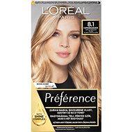 ĽORÉAL PARIS Préférence 8.1 Copenhaguen Světlá popelavá blond - Barva na vlasy