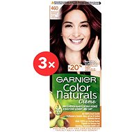 GARNIER Color Naturals 460 Rubínově červená 3 × 112 ml