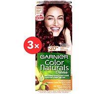 GARNIER Color Naturals 6.60 Cream&Berry intenzivně červená 3 × 112 ml