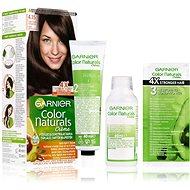 GARNIER Color Naturals 4.15 Tmavá ledová mahagonová 112 ml - Barva na vlasy