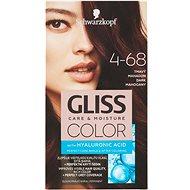 SCHWARZKOPF GLISS COLOR 4-68 Tmavý mahagon 60 ml - Barva na vlasy