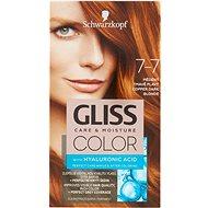 SCHWARZKOPF GLISS COLOR 7-7 Měděný tmavě plavý 60 ml - Barva na vlasy