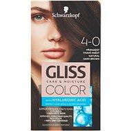 SCHWARZKOPF GLISS COLOR 4-0 Přirozený tmavě hnědý 60 ml - Barva na vlasy
