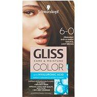 SCHWARZKOPF GLISS COLOR 6-0 Přirozený světle hnědý 60 ml - Barva na vlasy