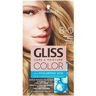 SCHWARZKOPF GLISS COLOR 8-0 Přirozená blond 60 ml - Barva na vlasy