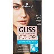 SCHWARZKOPF GLISS COLOR 5-1 Chladný hnědý 60 ml - Barva na vlasy