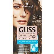 SCHWARZKOPF GLISS COLOR 6-16 Chladný perleťově hnědý 60 ml - Barva na vlasy