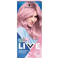 SCHWARZKOPF LIVE Ultra Brights Pretty Pastels P123 Rose Gold 50 ml