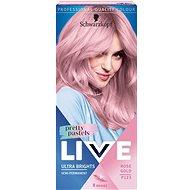 SCHWARZKOPF LIVE Ultra Brights Pretty Pastels P123 Rose Gold 50 ml - Barva na vlasy