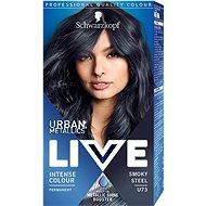 SCHWARZKOPF LIVE Urban Metallics U73 Smoky Steel - Barva na vlasy
