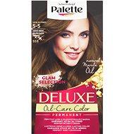 SCHWARZKOPF PALETTE Deluxe 555 Zářivě hnědý 50 ml - Barva na vlasy
