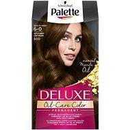 SCHWARZKOPF PALETTE Deluxe 6-0 Světle hnědý 50 ml - Barva na vlasy
