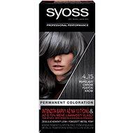 SYOSS Color 4-15 Popelavý chróm 50 ml - Barva na vlasy