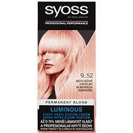SYOSS Color 9-52 Světlý růžově zlatoplavý 50 ml - Barva na vlasy