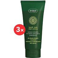 ZIAJA Mineral Šampon keratolytický proti lupům 3 × 200 ml