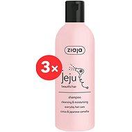ZIAJA Jeju Čistící & hydratační šampon na vlasy 3 × 300 ml