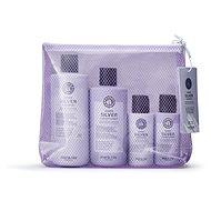 MARIA NILA Sheer Silver Beauty Bag - Cosmetic Gift Set