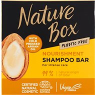 NATURE BOX Argan Shampoo 85 g - Tuhý šampon