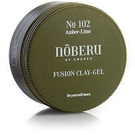 NOBERU Amber-Lime Fusion Clay Gel 80 ml - Gel na vlasy