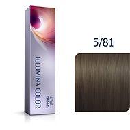 WELLA PROFESSIONALS Illumina Color Cool 5/81 60 ml - Barva na vlasy