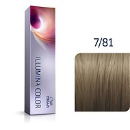 WELLA PROFESSIONALS Illumina Color Cool 7/81 60 ml - Barva na vlasy
