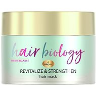 PANTENE Hair Biology Balance Maska Na suché, poškozené a řídnoucí vlasy 160 ml
