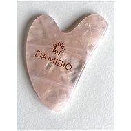 DAMIBIO GuaSha Rose quartz in a gift bag