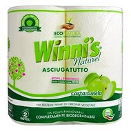 WINNI'S Naturel Paper Cloth 2 Rolls - Eco Kitchen Towels