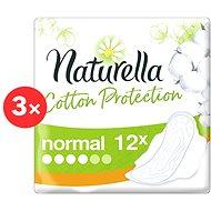 NATURELLA Cotton Protection 3× 12 ks - Menstruační vložky