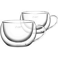 Lamart set 2 cappuccino sklenic 270ml VASO  LT9012 - termosklenice