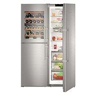 LIEBHERR SBSesf 8486 - Americká lednice